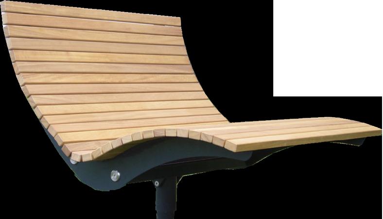 Relaxliege garten holz  AUSSENOBJEKTE :: Relaxliege Garten Parkliege Metall Holz